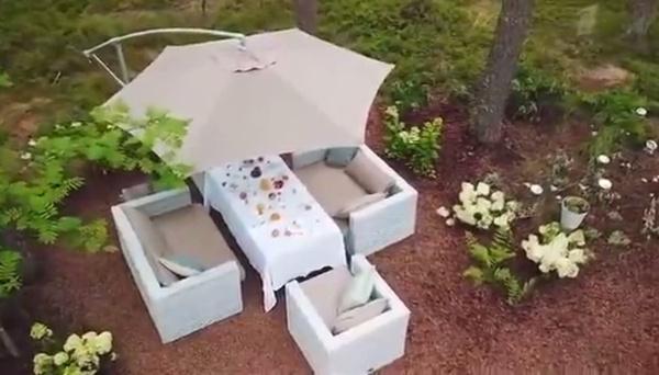 Дизайнеры создали место для отдыха