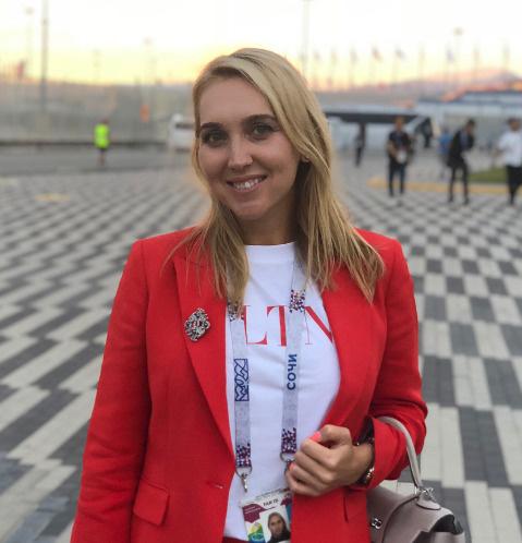 Олимпийская чемпионка Елена Веснина родила дочь