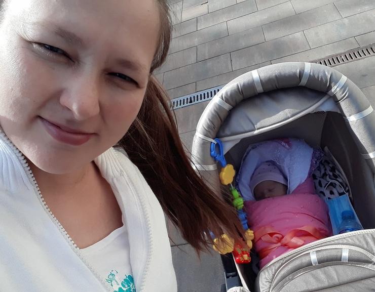 Гузель стала мамой в конце лета