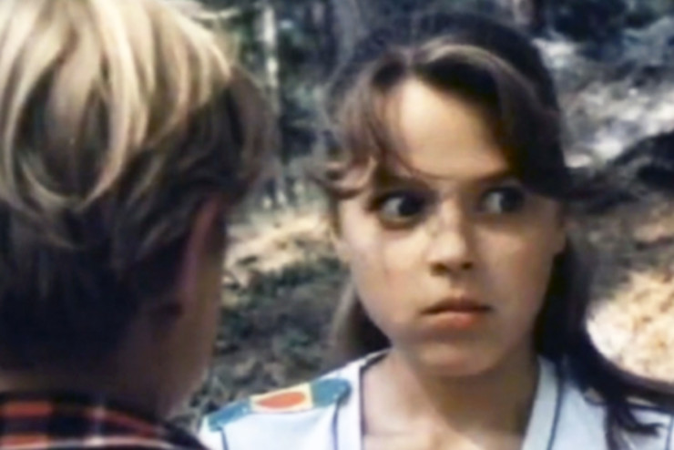 Первую роль в кино Громушкина исполнила, когда ей было 13 лет