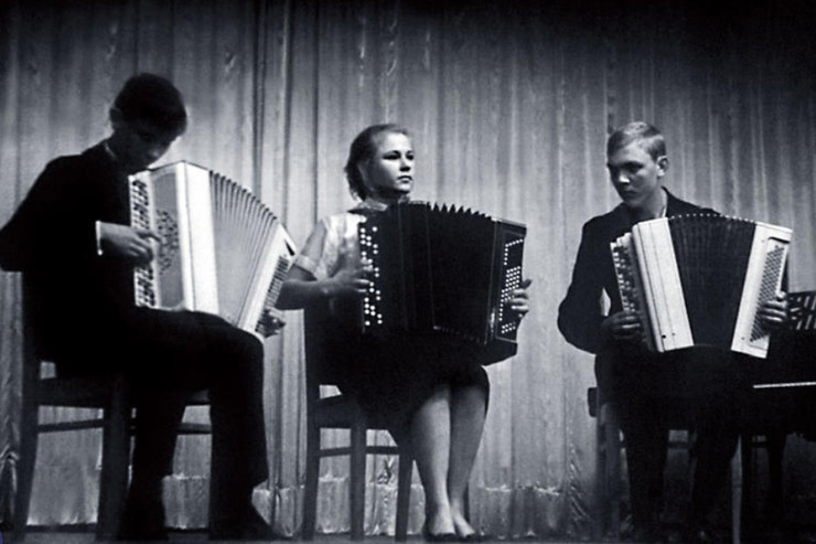 Ryazanova entered the music school