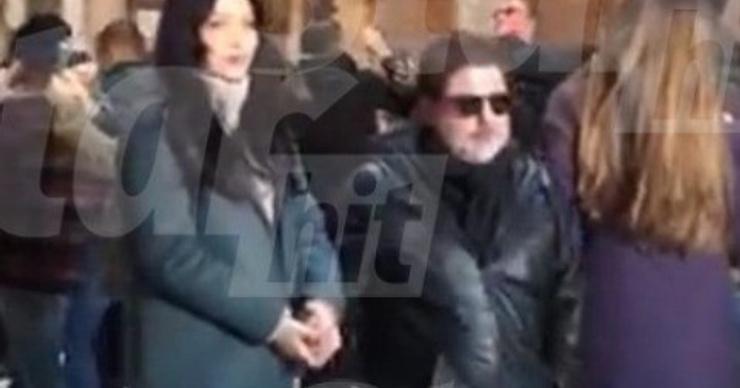 Александр Цекало встретил Новый год с любовницей в Риме. ФОТО
