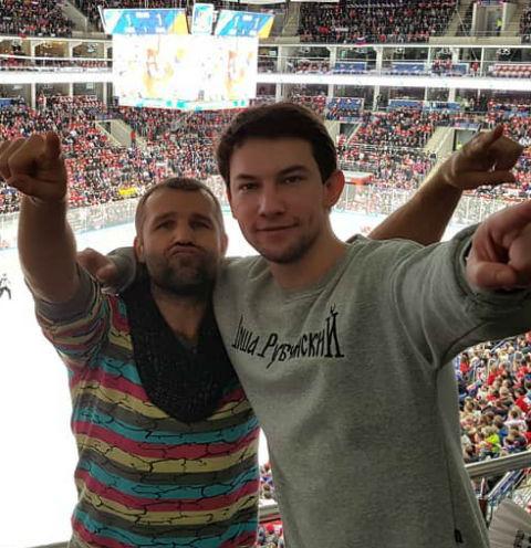 Тимур Ефременков и Кирилл Емельянов