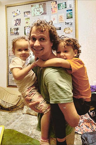 Главный стимул для мужчины — дети: дочь Маша и сын Вова