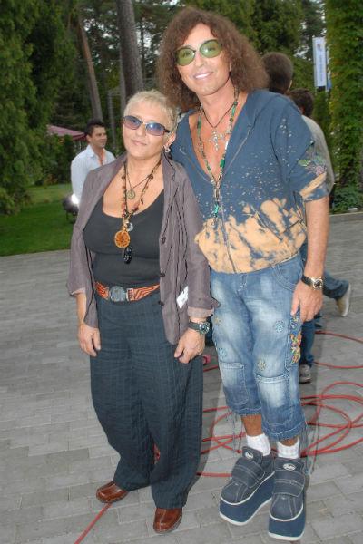 Валерий Леонтьев с женой Людмилой