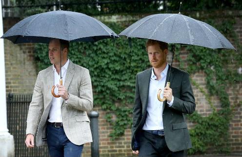 Принц Уильям и Гарри