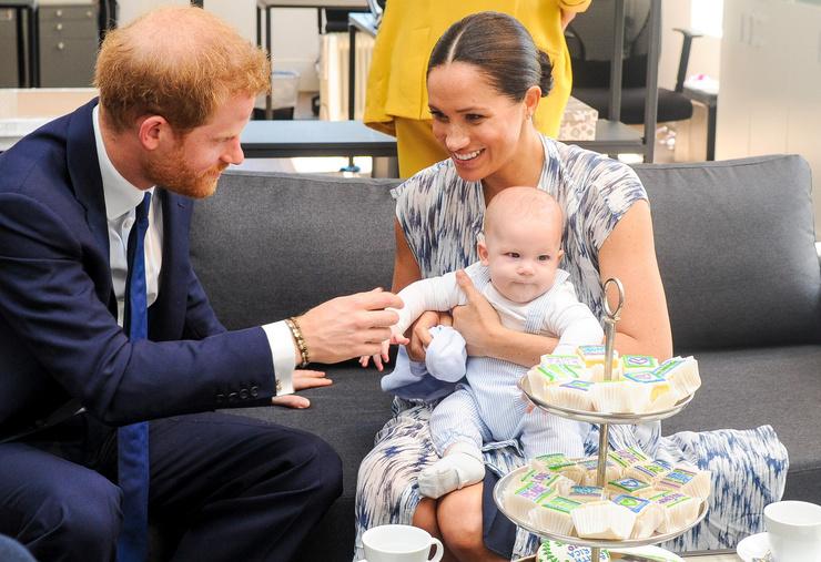 У двухлетнего сына герцогов Сассекских появилась сестренка