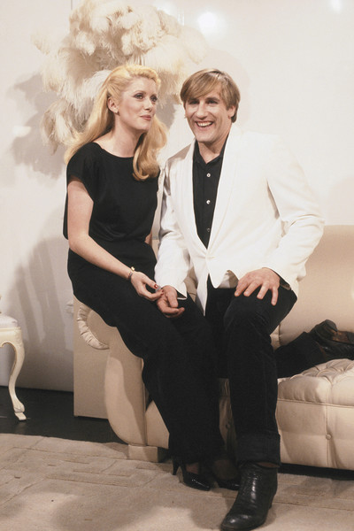 There were rumors about Deneuve's romance with Gerard Depardieu