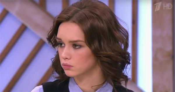 Диана Шурыгина в телешоу Первого канала