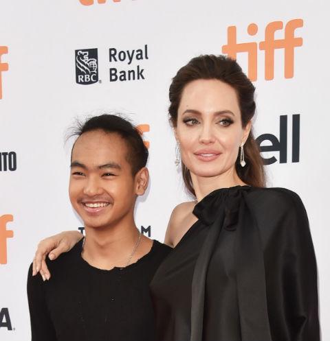 Анджелина Джоли с сыном