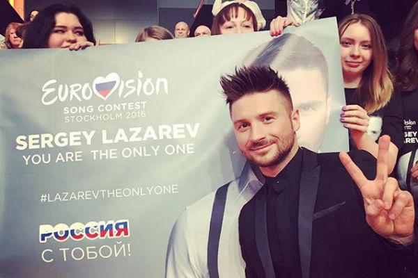 Вся страна поддержала Сергея Лазарева