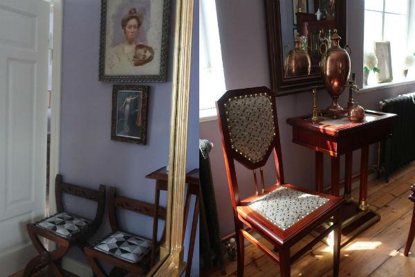 Интерьер дома дизайнера под Калининградом