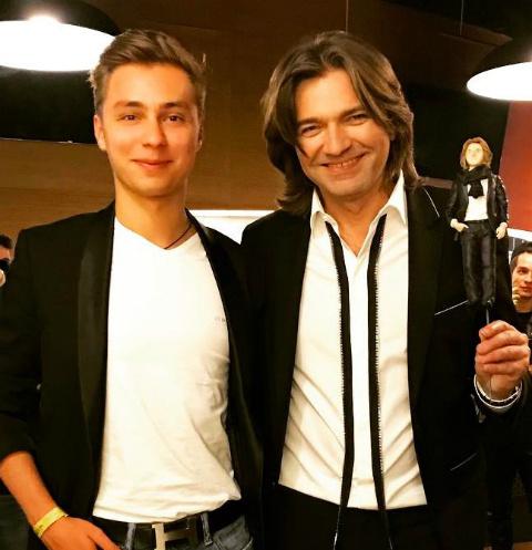 Дмитрий Маликов и его племянник Дима