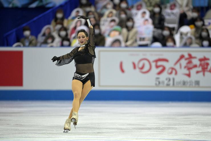 Лиза Туктамышева была на высоте!