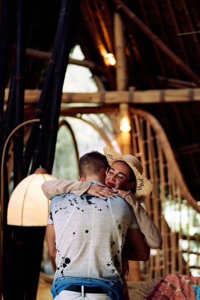 Ольга и Рома побывали на романтическом свидании на Бали