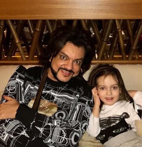 Филипп Киркоров и его дочка Алла-Виктория