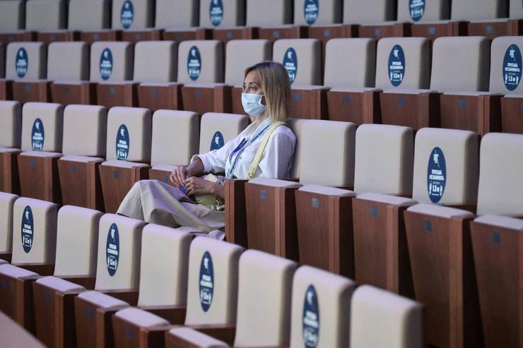 В России отменили массовые мероприятия
