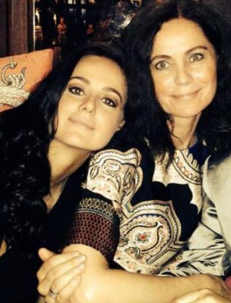 Дочь Градского Мария с матерью
