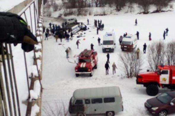 19 человек погибли во время аварии