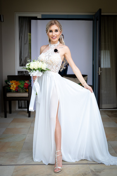 Свадебный наряд Розалии