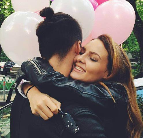 Полина Фаворская и Никита Волосников