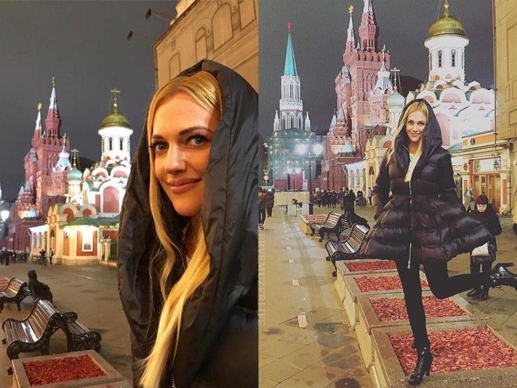 Актриса давно мечтала побывать в столице России