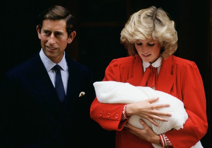 Принц Чарльз не сразу проникся теплыми чувствами к младшему сыну