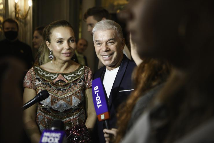 Олег Газманов с супругой Мариной Газмановой