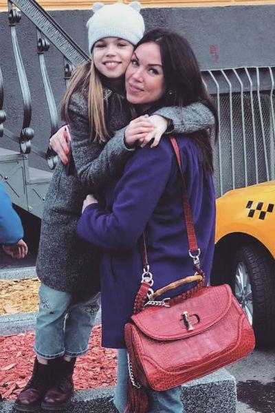 Оксана Тарасова и дочь Ангелина
