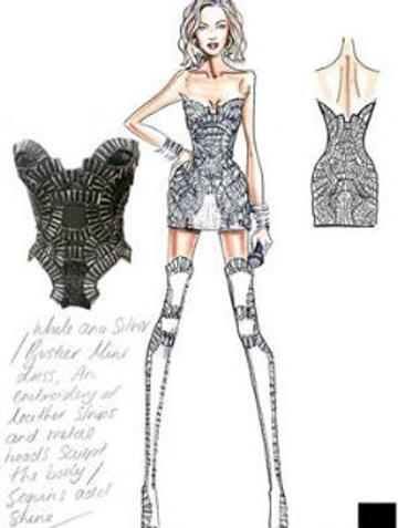 Эскиз Versace