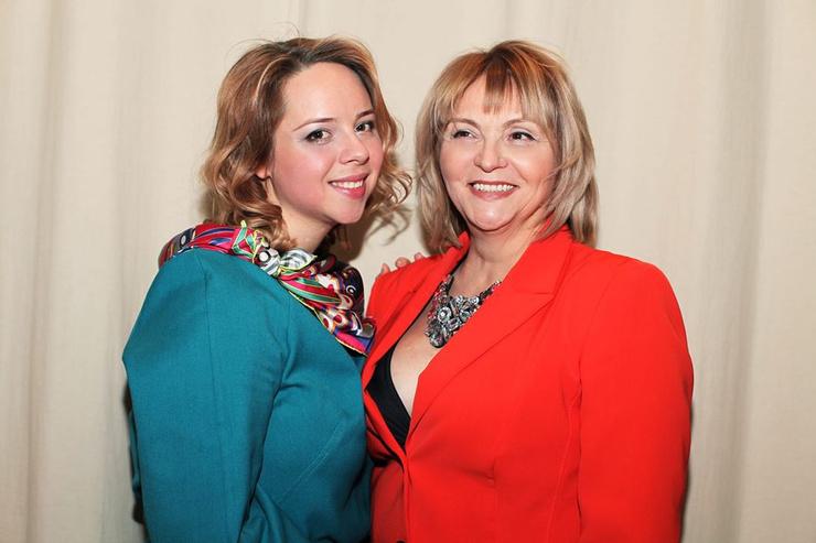 Марина Буримова с дочерью Александрой