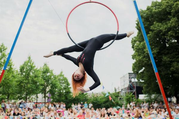 Стиль жизни: Третий Фестиваль воздушной гимнастики – фото №2