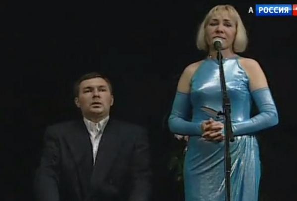 Дмитрий Иванов и Антонина Истомина на «Смехопанораме»