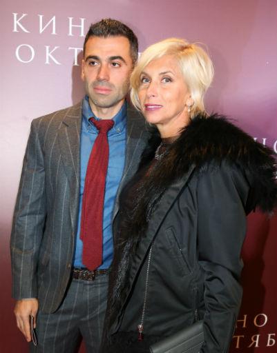 Алена Свиридова с избранником