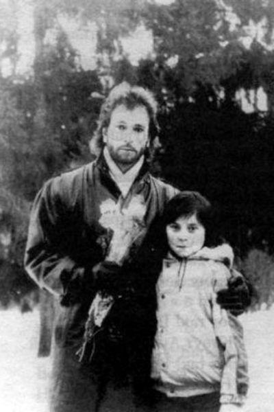 Игорь Тальков с сыном