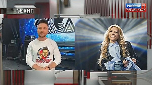 Сергей Лазарев дал напутствие Юлии Самойловой