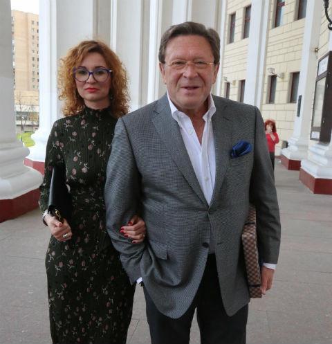 Георгий Мартиросян с супругой