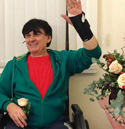 Александр Серов получил травму