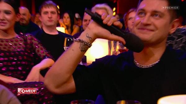 Давид показал татуировки в честь Ольги Бузовой