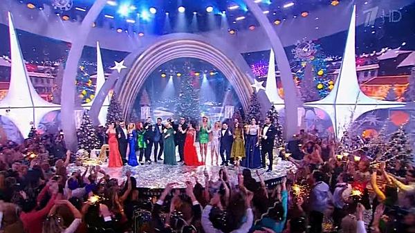 «Новогодняя ночь на Первом канале»