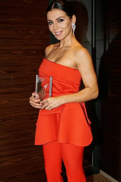 Анна Седокова на церемонии Fashion People Awards
