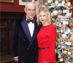 Парный выход: Сергей Мазаев с женой