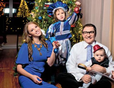 Дмитрий и Полина Дибровы рассказали о главном желании старшего сына