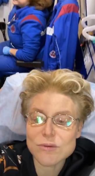 Елена Малышева в скорой помощи