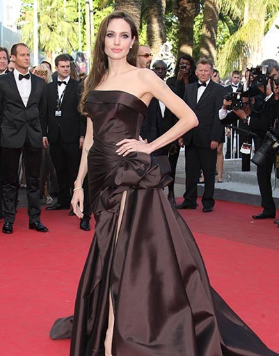 Анджелина Джоли много раз становилась модной победительницей Канн