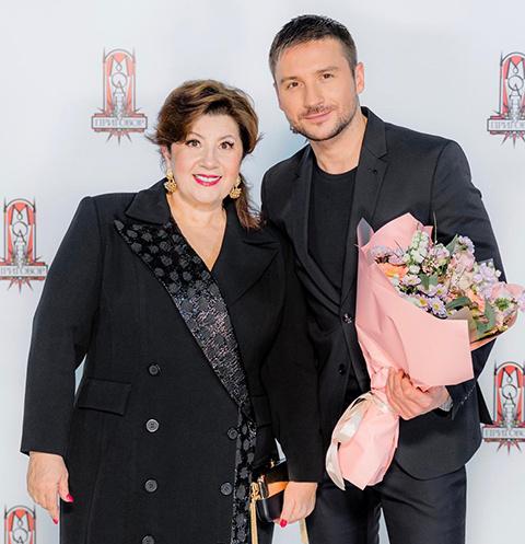 Cергей Лазарев и Валентина Лазарева