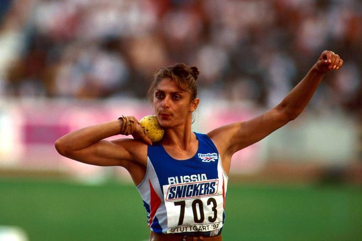 Второй избранницей бодибилдера стала легкоатлетка Лариса Никитина