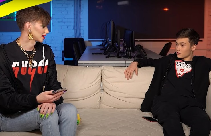 Володя пожалел, что насмехался над интервьюером