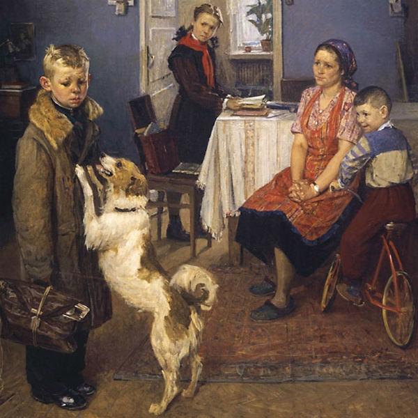 Картина Решетникова, как всегда, актуальна