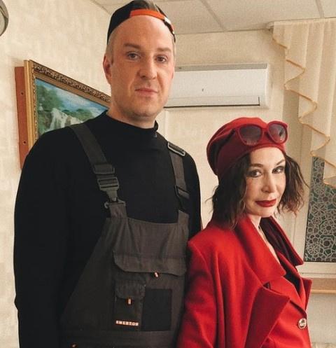 Татьяна Васильева с сыном Филиппом